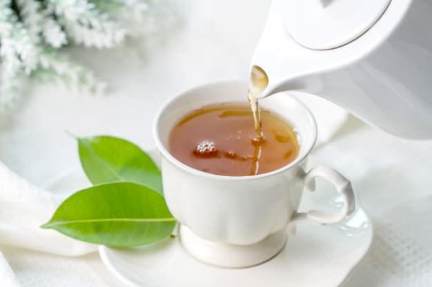 10 Consejos para reducir la pancita: 1-Tomar té es más beneficioso que tomar café