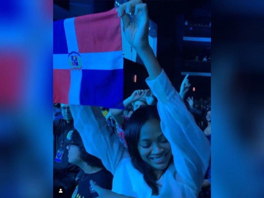 Zoe Saldaña se unirá al pueblo el 27 de febrero en la plaza de la Bandera