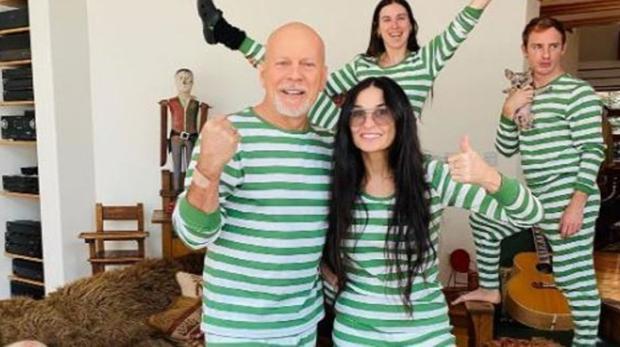 Bruce Willis no pasó la cuarentena con su esposa, ¿Por qué?