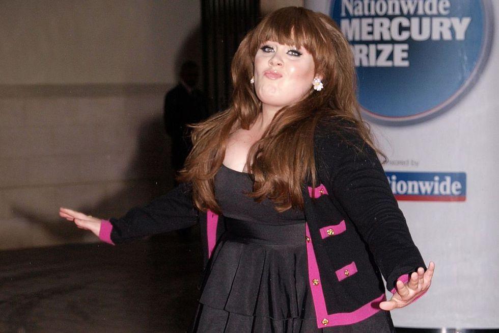 Adele reaparece en instagram con bajo peso