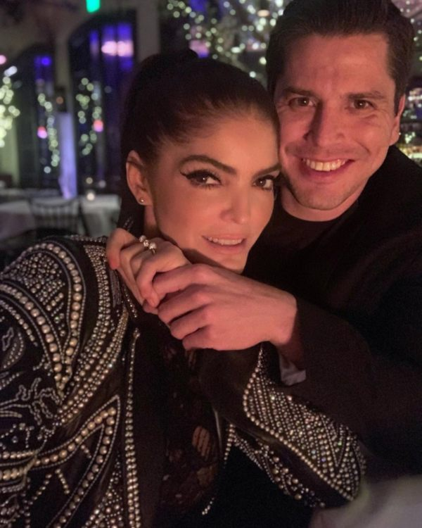 Ana Bárbara y su novio Ángel Muñoz