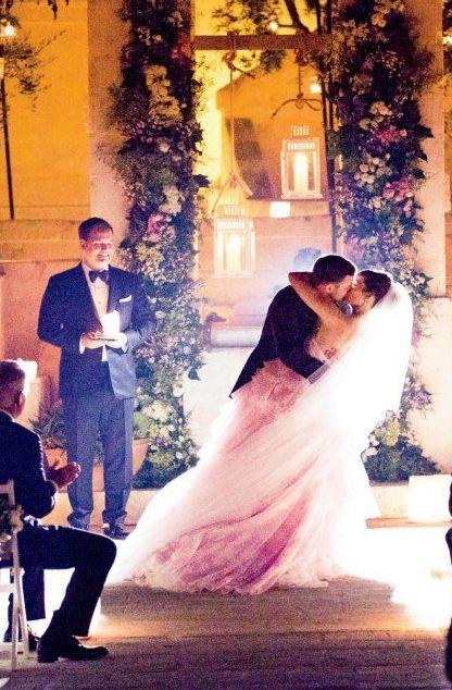 Justin y Jessica boda