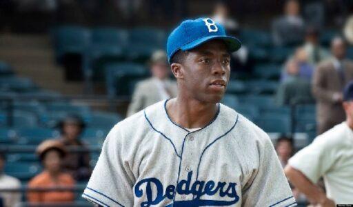 Chadwick Boseman película 42 Jackie Robinson