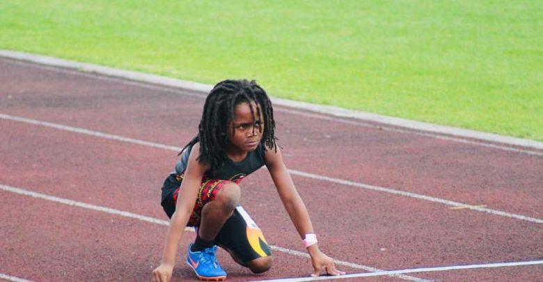 Con apenas 7 años, niño logra registrar 13,48 segundos en 100 metros