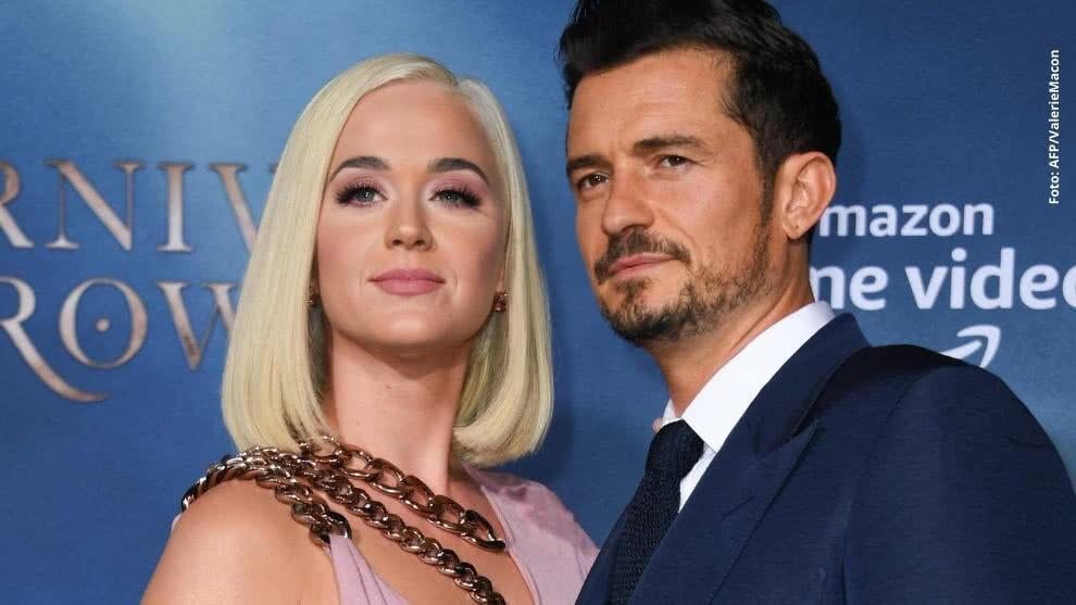 Katy Perry y Orlando Bloom ya son padres de una pequeña 'Daisy Dove'