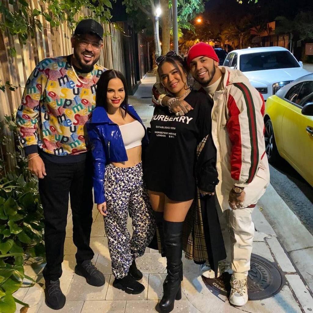 Raphy Pina, Anuel AA, Karol G y Natti Natasha