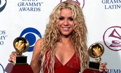 Shakira en los Latin Grammy