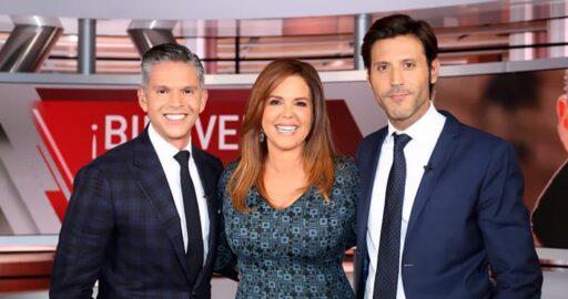 Rodner Figueroa y María Celeste Arrarás