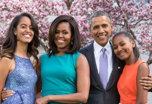 hijas de michelle y barack Obama