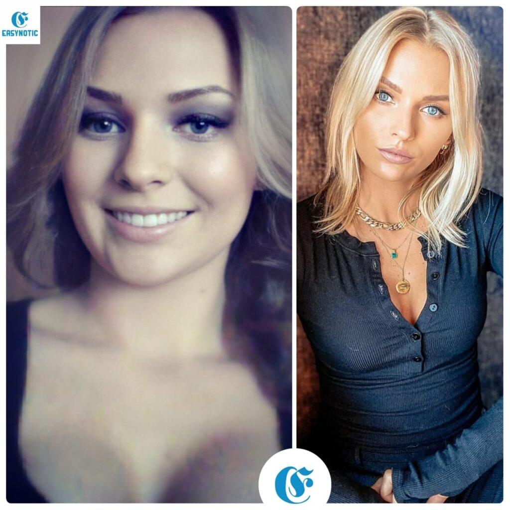 Irina Baeva Antes y después ahora
