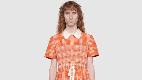 Gucci lanzó vestido para hombres con el fin de romper estereotipos