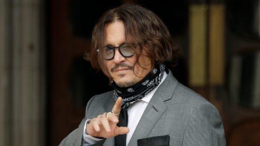 Johnny Depp y The Sun