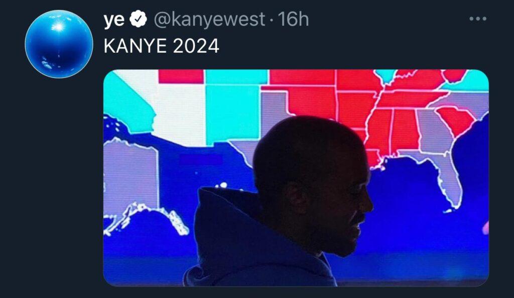 Kanye West 2024