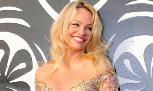 Actriz Pamela Anderson