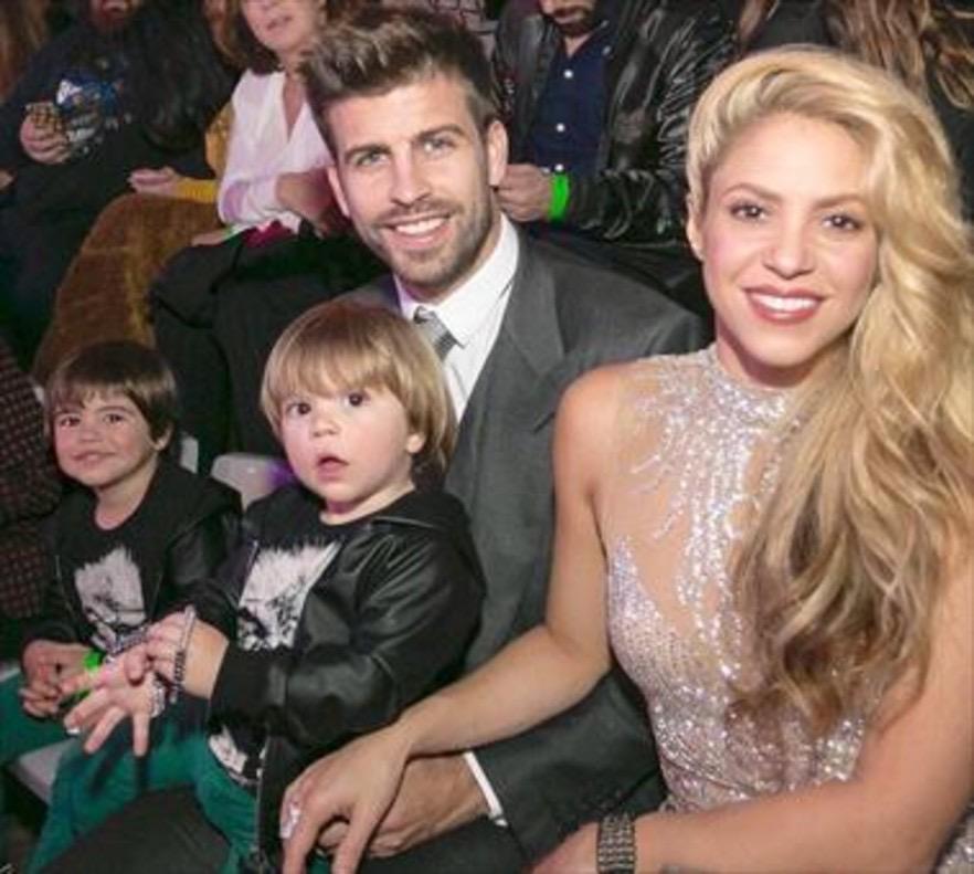 Shakira y Gerald Piqué